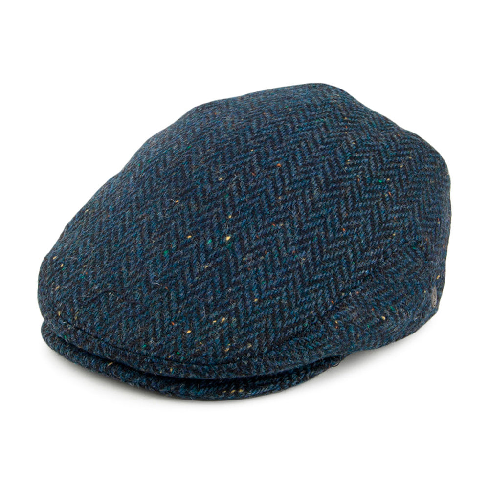 Jaxon & James Brooklyn Sixpence Flat Cap Navy Blå