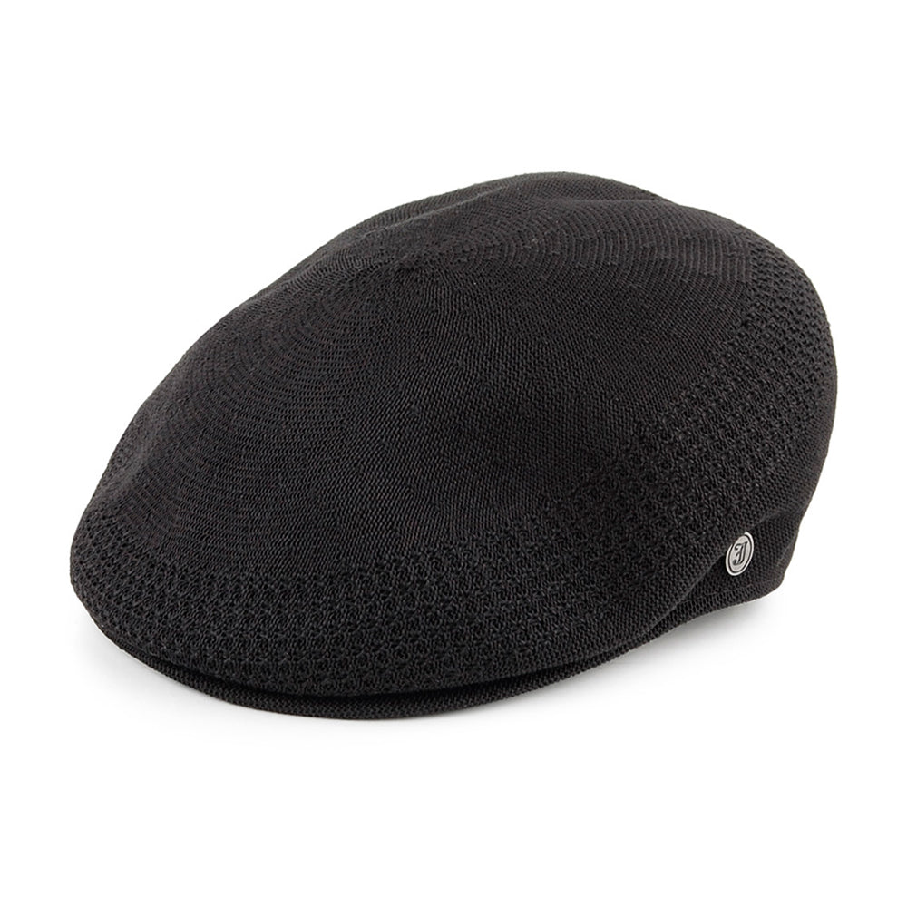 Jaxon & James Summer Sixpence Flat Cap Black Sort