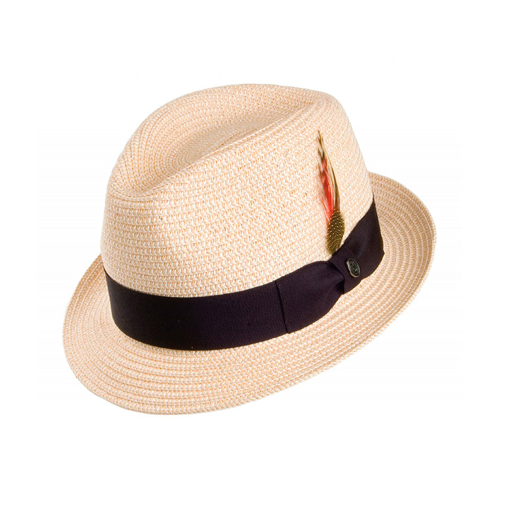 Jaxon & James Toyo Trilby Straw Hat Natural Beige