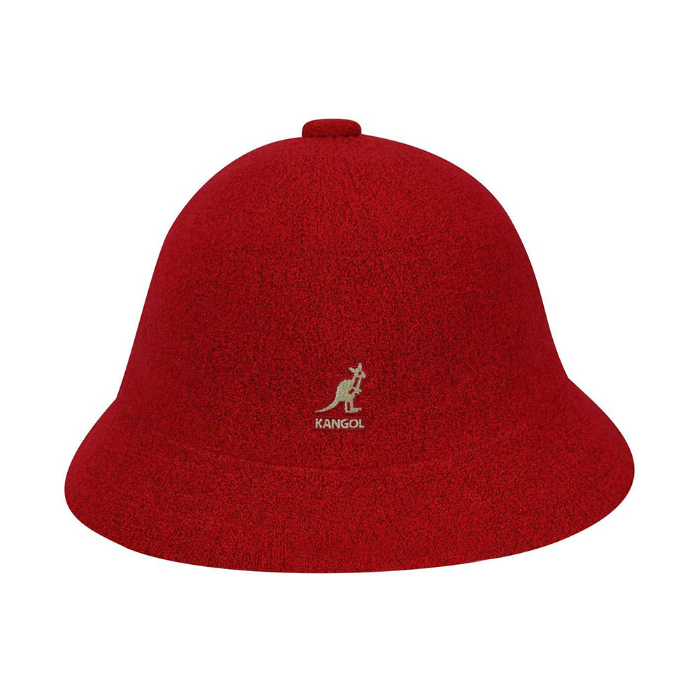 Kangol Bermuda Casual Bucket Hat Scarlet Red Rød