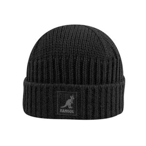 Kangol Cuff Pull On Fold Hue Black Sort