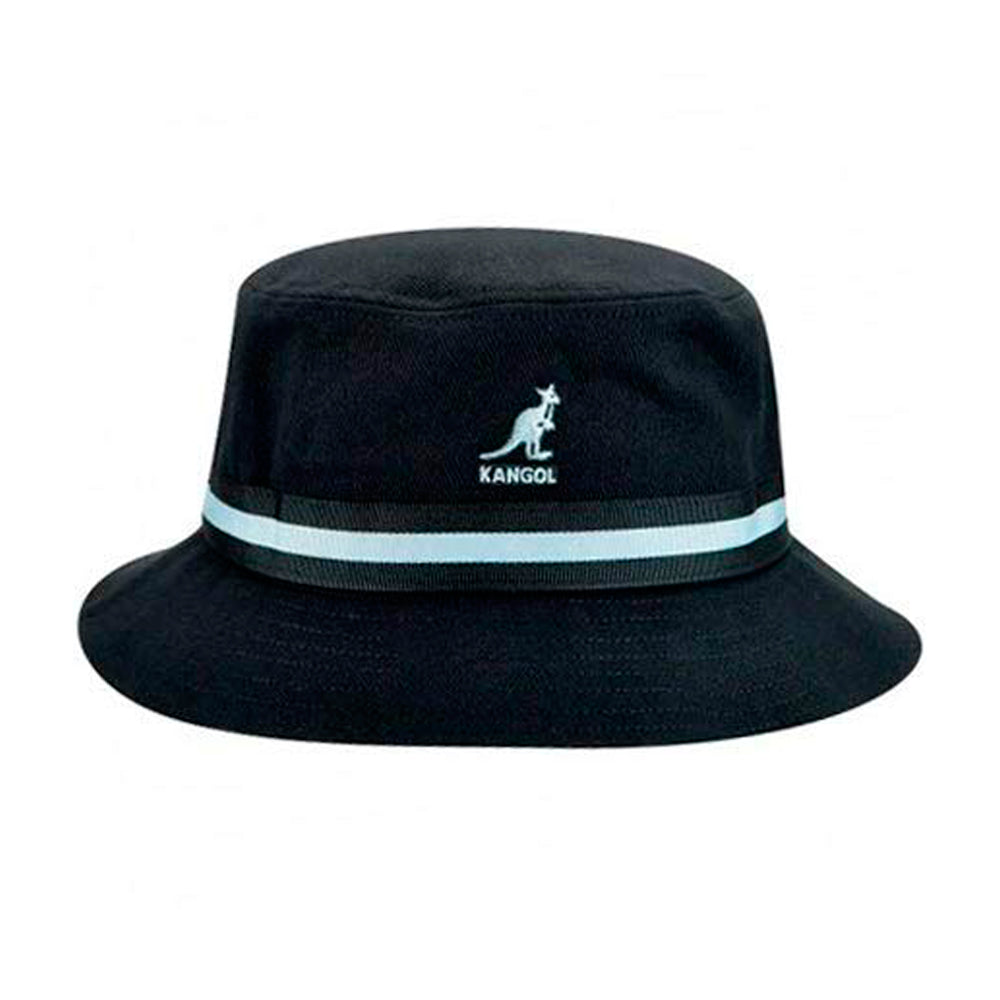 Kangol Stripe Lahinch Bucket Hat Black Sort