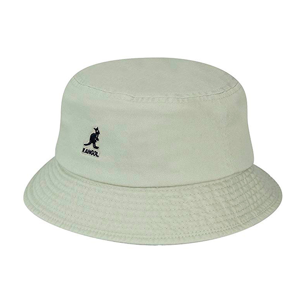 Kangol Washed Bucket Hat Khaki