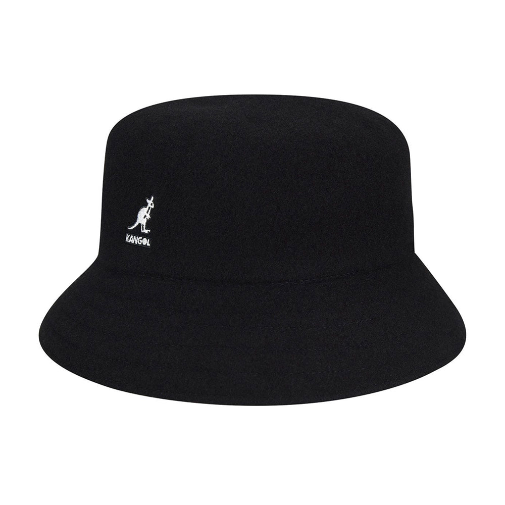 Kangol Wool Lahinch Bucket Hat Black Sort K3191ST - BK001