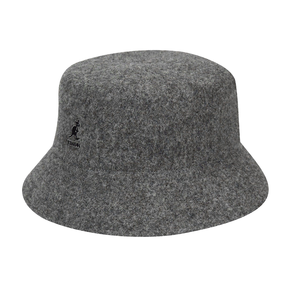 Kangol Wool Lahinch Bucket Hat Flannel Grey Grå K3191ST - FL034