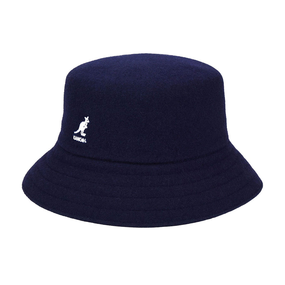 Kangol Wool Lahinch Bucket Hat Navy Blå K3191ST - NV411