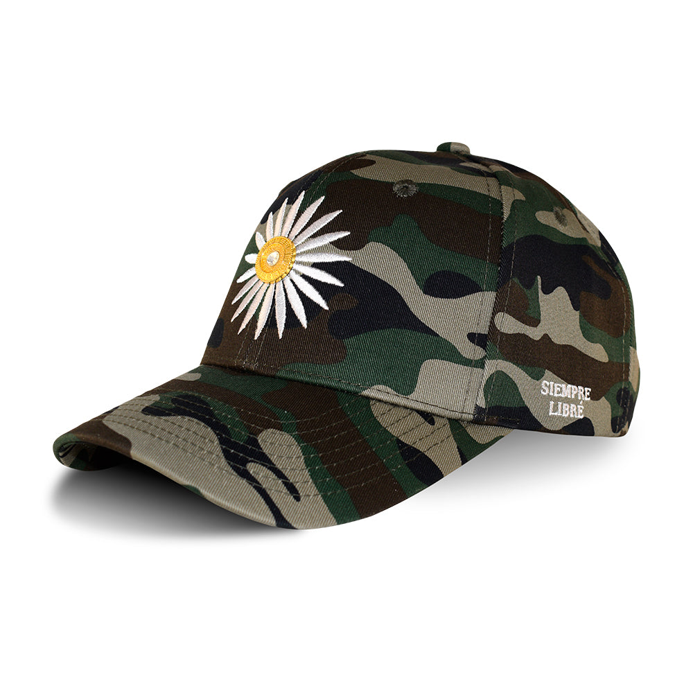 La Rosa Siempre Libre Adjustable Justerbar Military Camo White Hvid