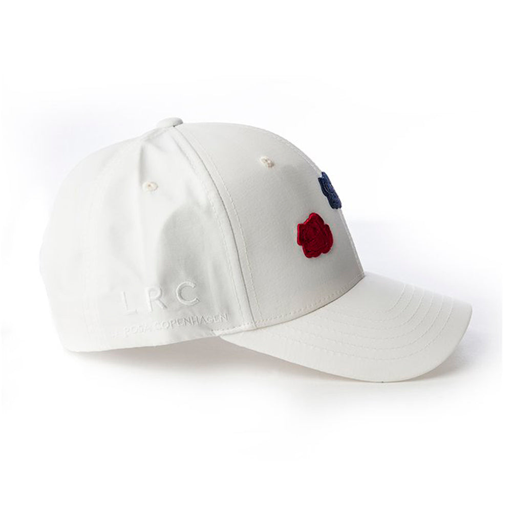 La Rosa Triple Rose Snapback White Red Blue Hvid Rød Blå