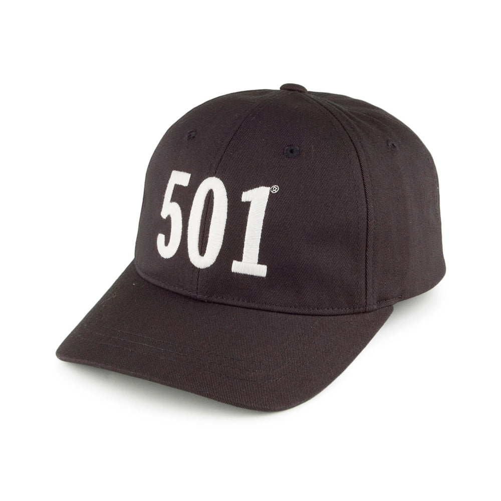 Levis 501 Baseball Cap Adjustable Black Sort