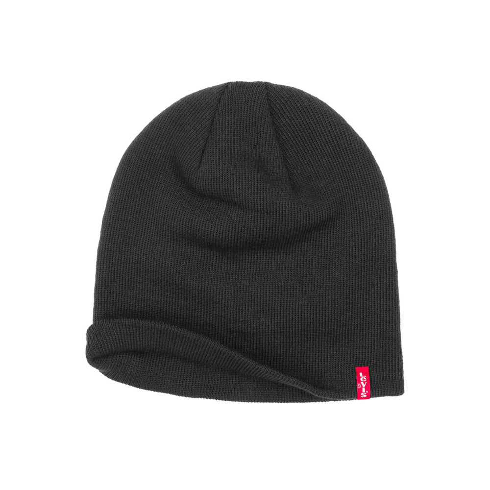 Levis Otis Pull On Beanie Black Sort