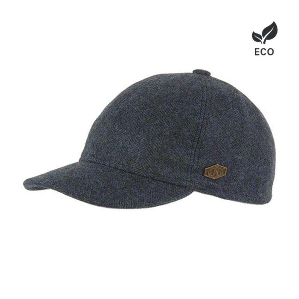 MJM Hats Baseball EL Flexfit Fitted Blue Blå Eco Økologisk Logo