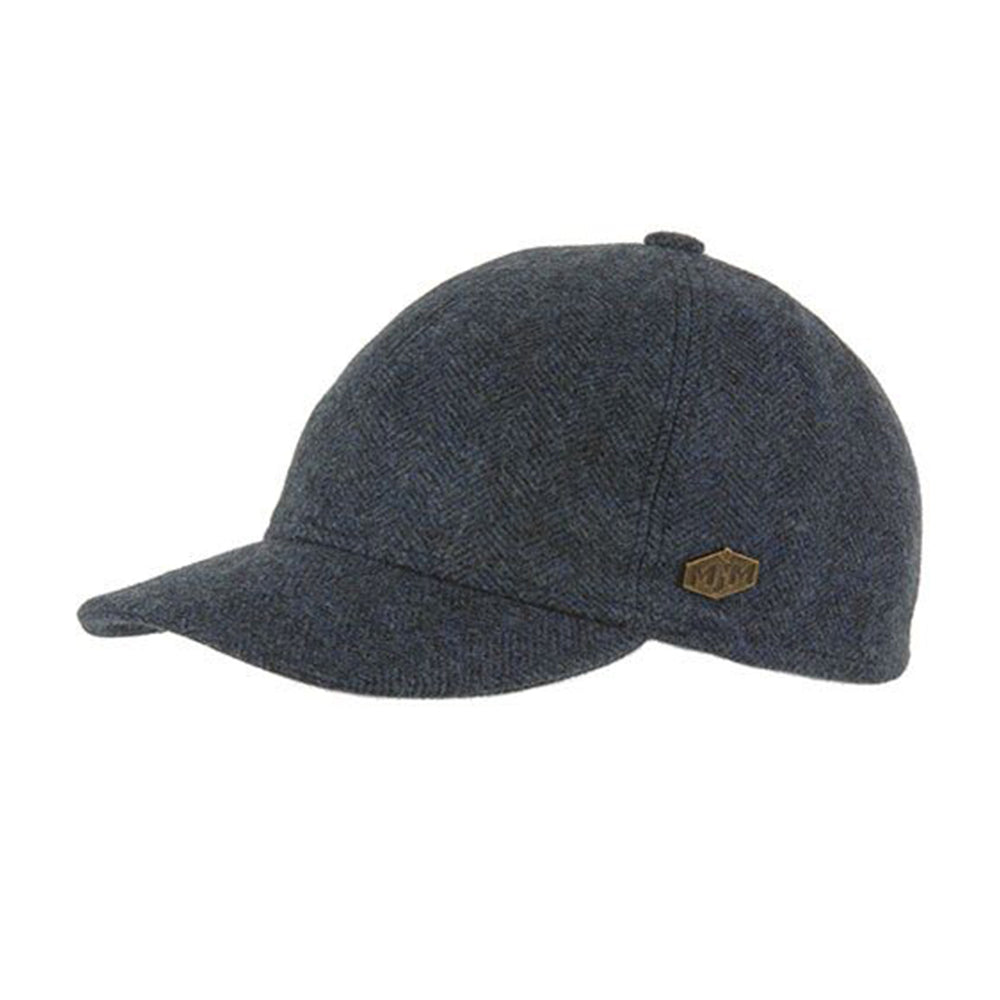 MJM Hats Baseball EL Flexfit Fitted Blue Blå