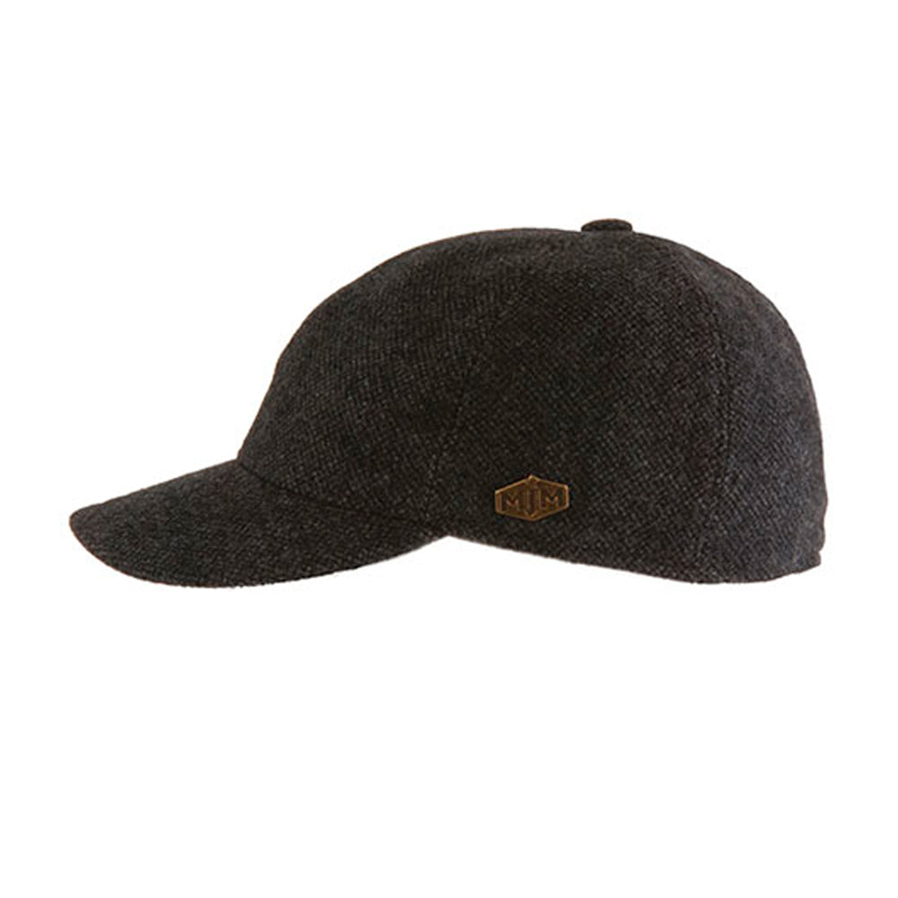 MJM Hats Baseball EL Flexfit Fittede Grey Anthracite Grå