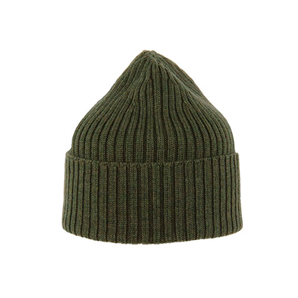 MJM Hats Beanie Army Green Grøn