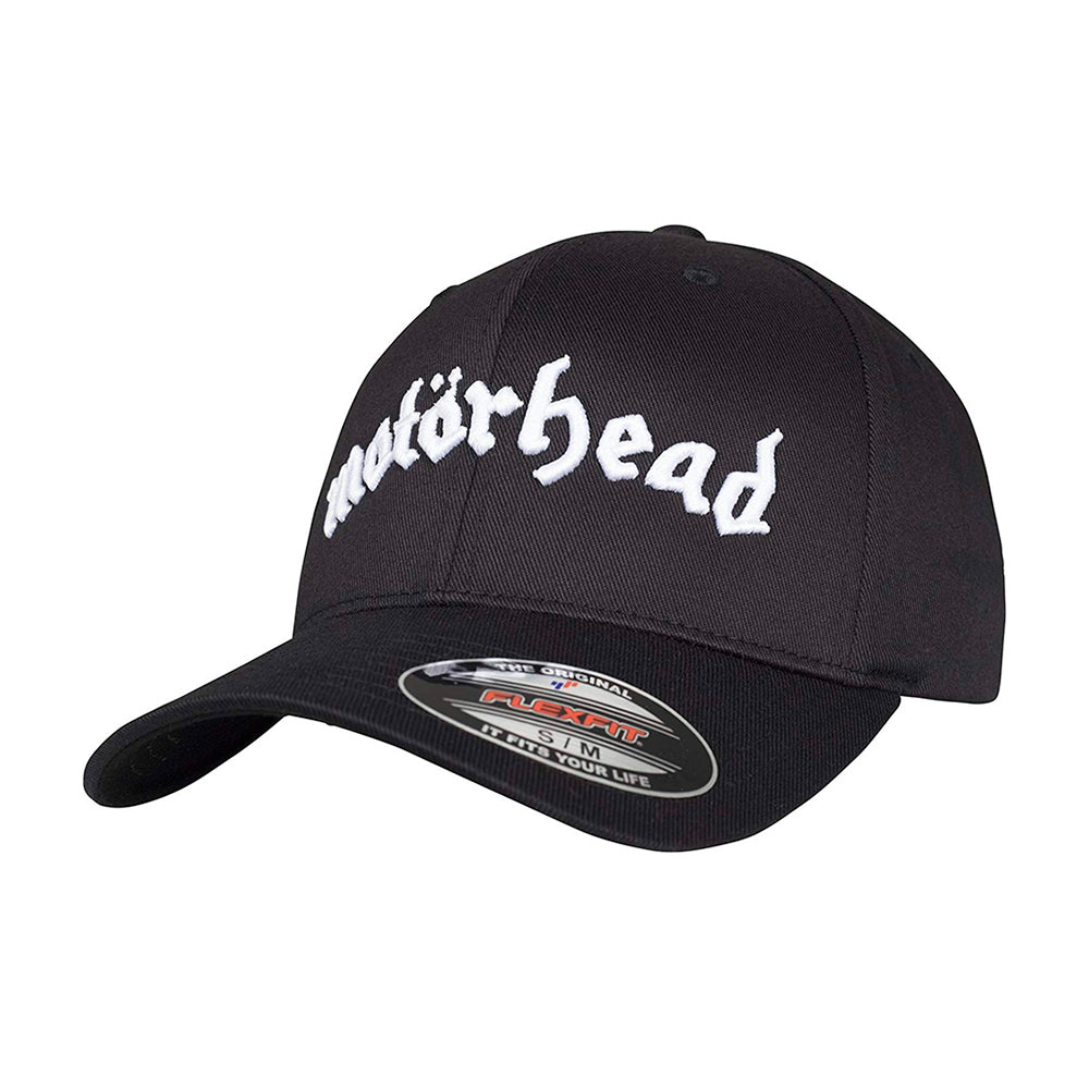 Merchcode Motörhead Flexfit Black Sort