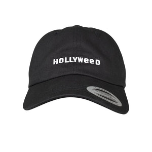 Mister Tee Hollyweed Dad Black Justerbar Cap