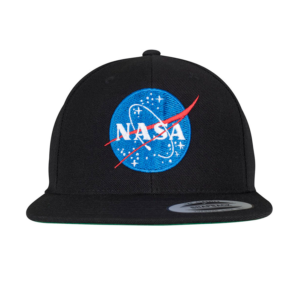 Mister Tee Nasa Snapback Black Sort