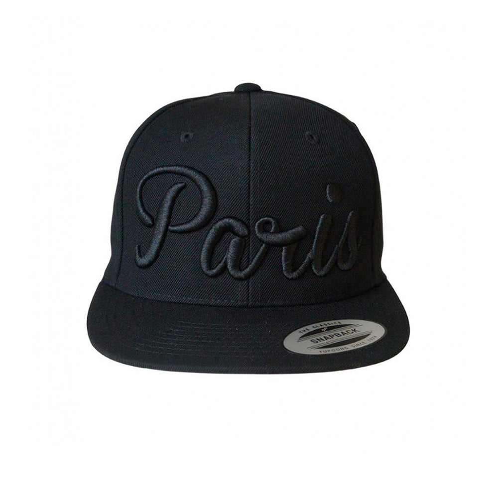 Mister Tee Paris Snapback Black Sort