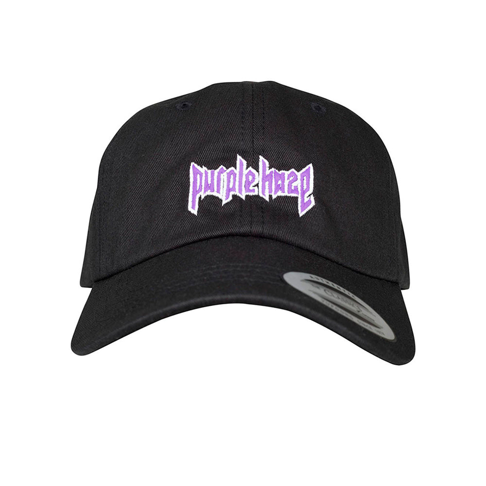 Mister Tee Purple Haze Dad Cap Justerbar Black Sort