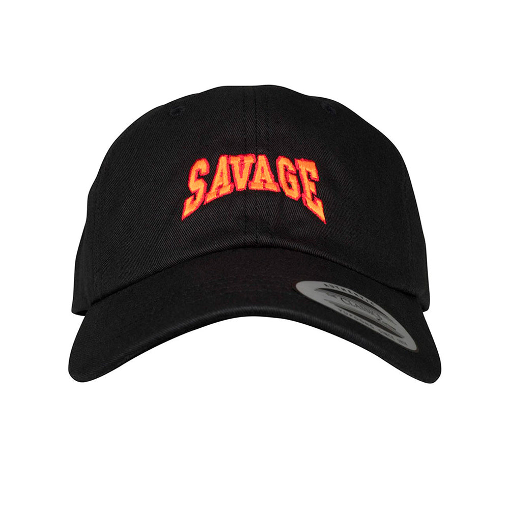 Mister Tee Savege Dad Cap Justerbar Black Sort
