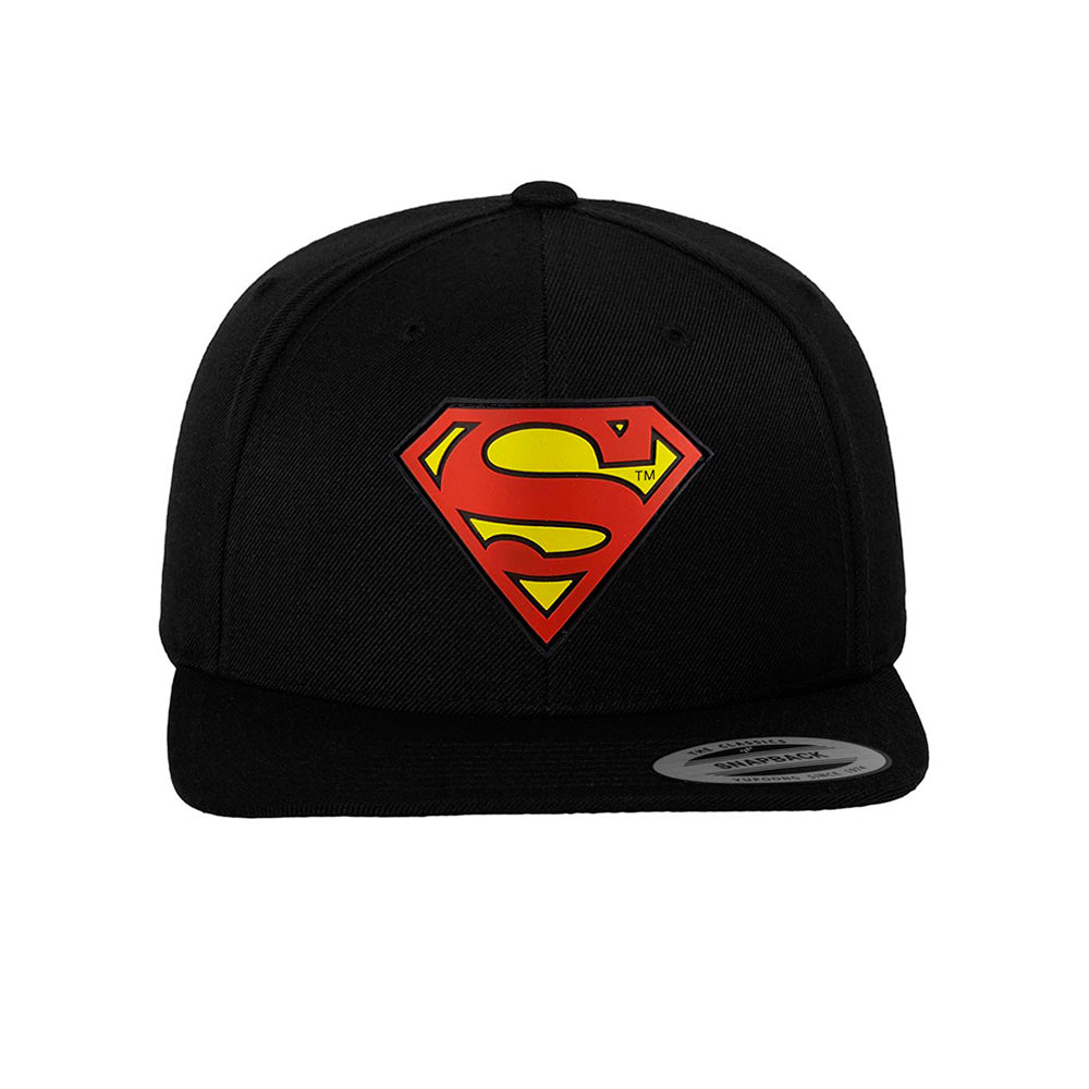 Mister Tee Superman Snapback Black Sort