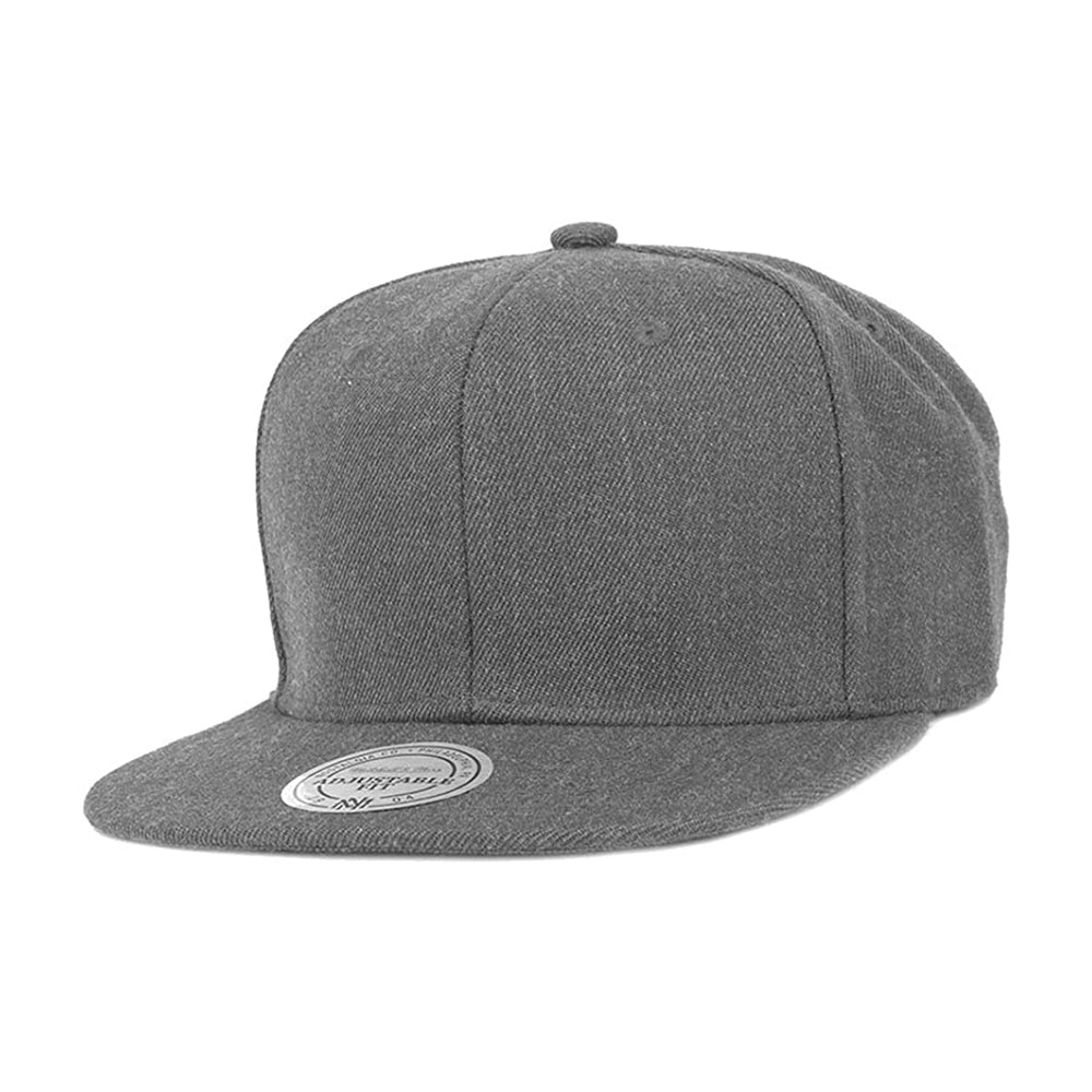 Mitchell & Ness Blank High Crown Snapback Grey Grå
