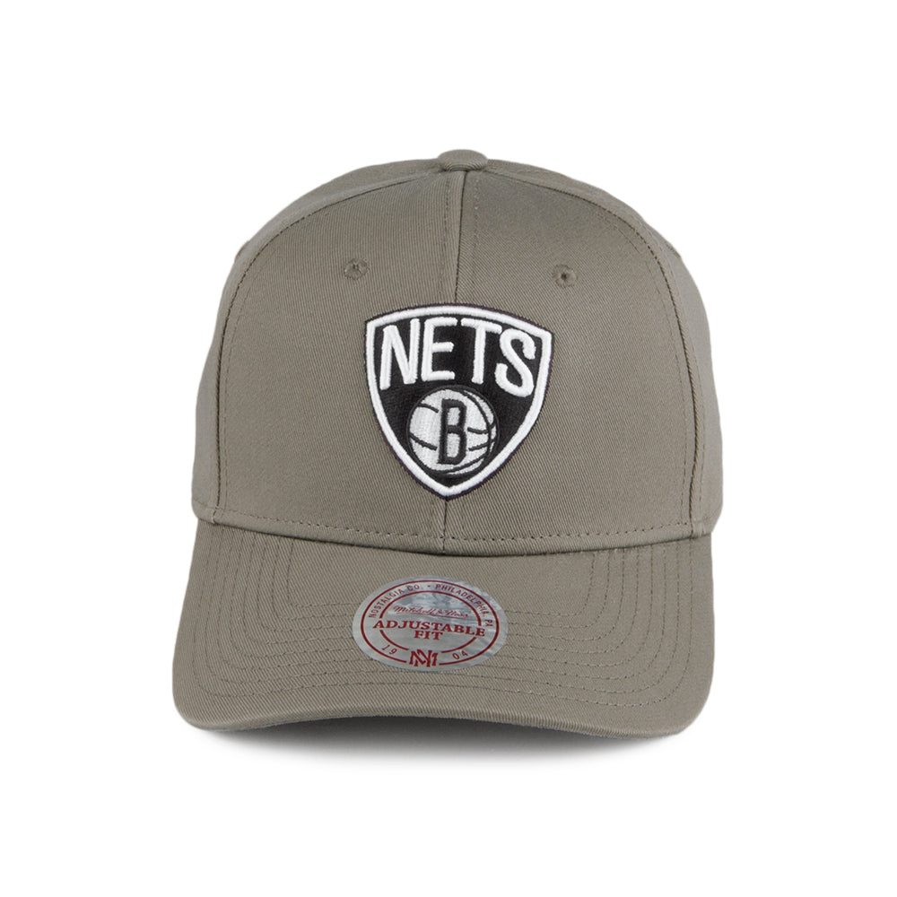 Mitchell & Ness - Brooklyn Nets Low Pro - Adjustable - Olive