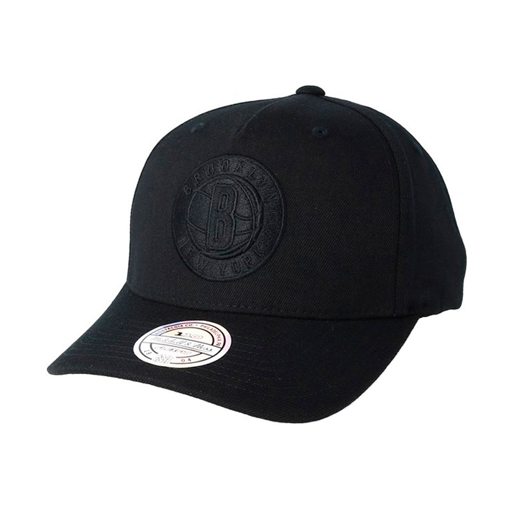 Mitchell & Ness NBA Brooklyn Nets Snapback 217 Black Black Sort
