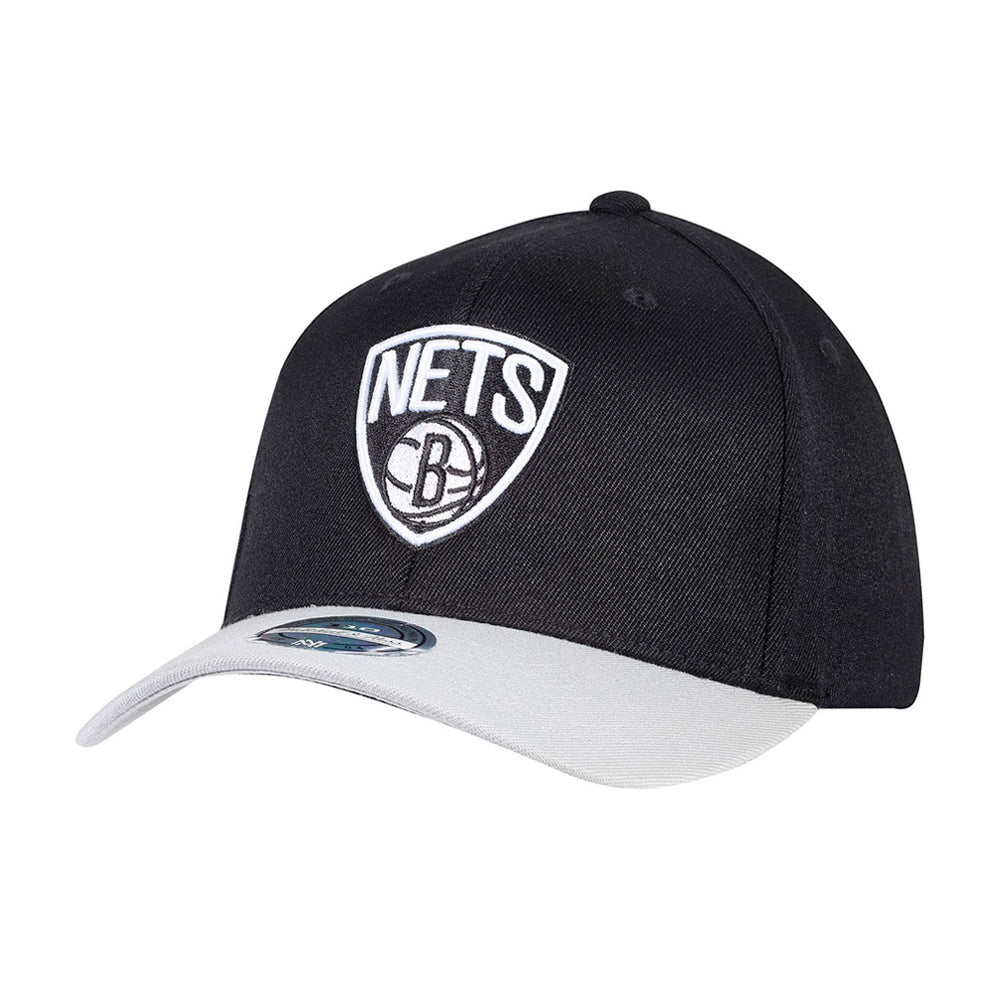 Mitchell & Ness NBA Brooklyn Nets Snapback 285 Black Grey Sort Grå