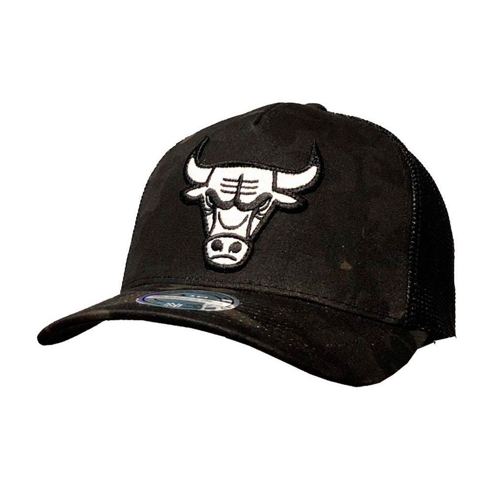 Mitchell & Ness NBA Chicago Bulls Snapback 293 Camo Black Sort