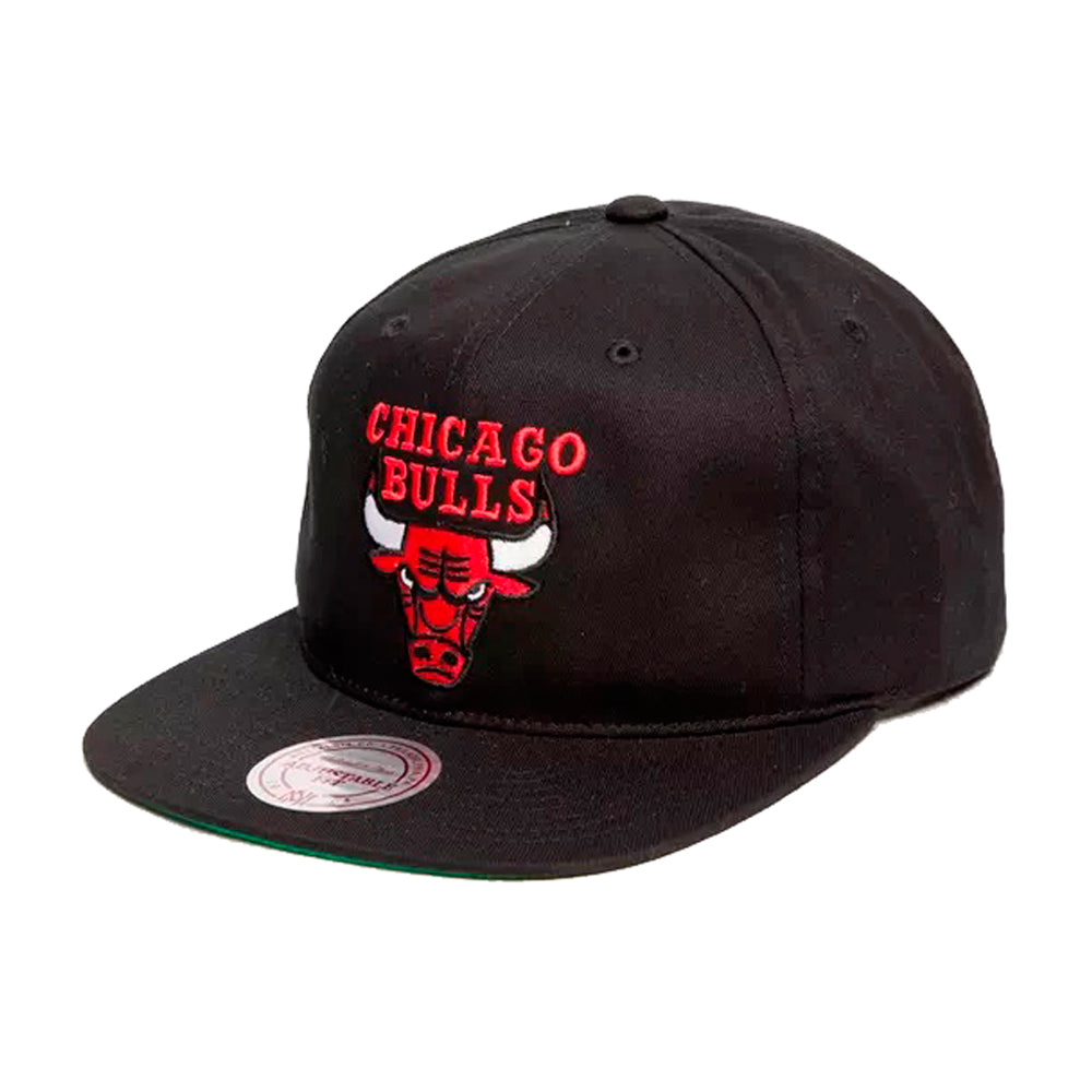 Mitchell & Ness Chicago Bulls Retro Throwback Snapback Black Sort
