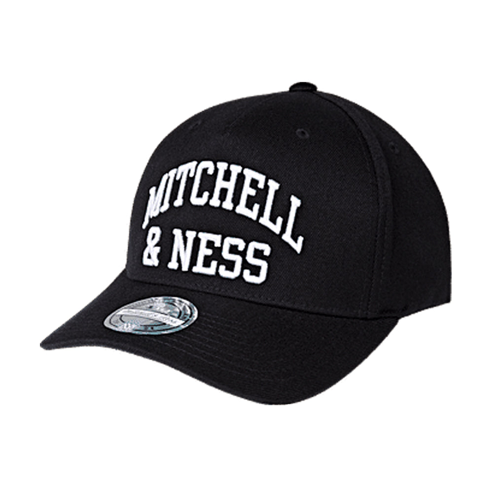 Mitchell & Ness Head Coach Arch Snapback Black Sort MN-BRA-INTL477