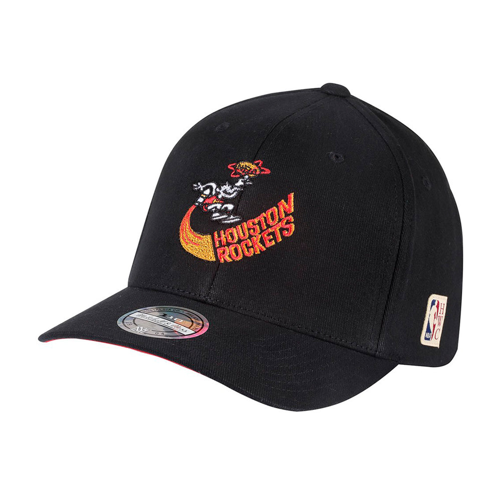 Mitchell & Ness NBA Houston Rockets Snapback 323 Black Sort