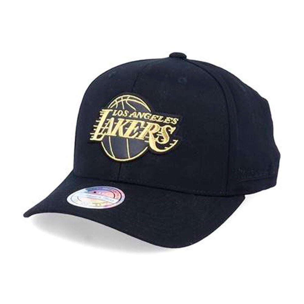 Mitchell & Ness LA Lakers Snapback Black Gold Sort Guld