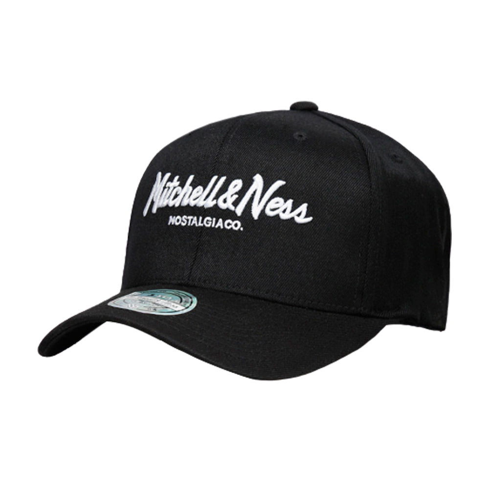 Mitchell & Ness M&N Script 110 Snapback Black Sort