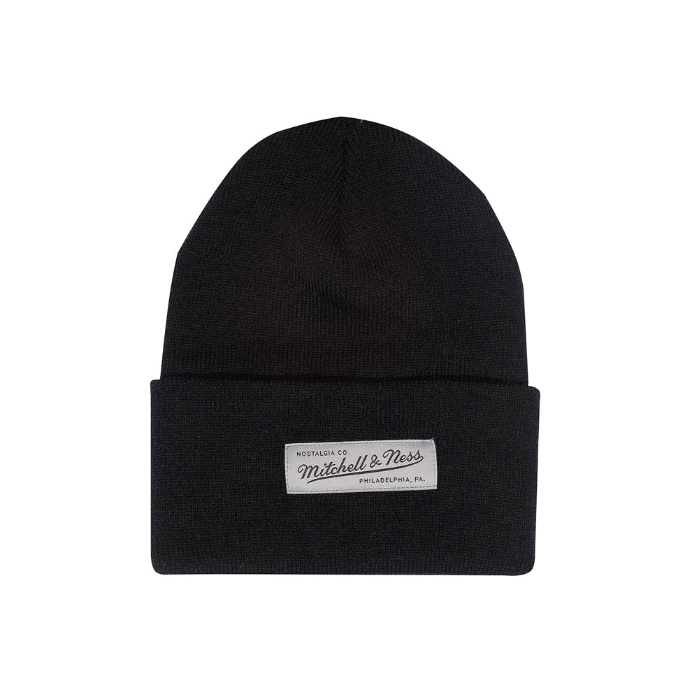 Mitchell & Ness Nostalgia Cuff Knit Beanie Black Sort