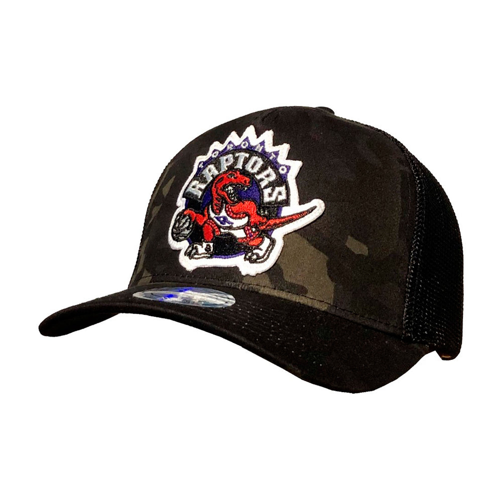 Mitchell & Ness NBA Toronto Raptors Multicam Snapback 293 Camo Black Sort