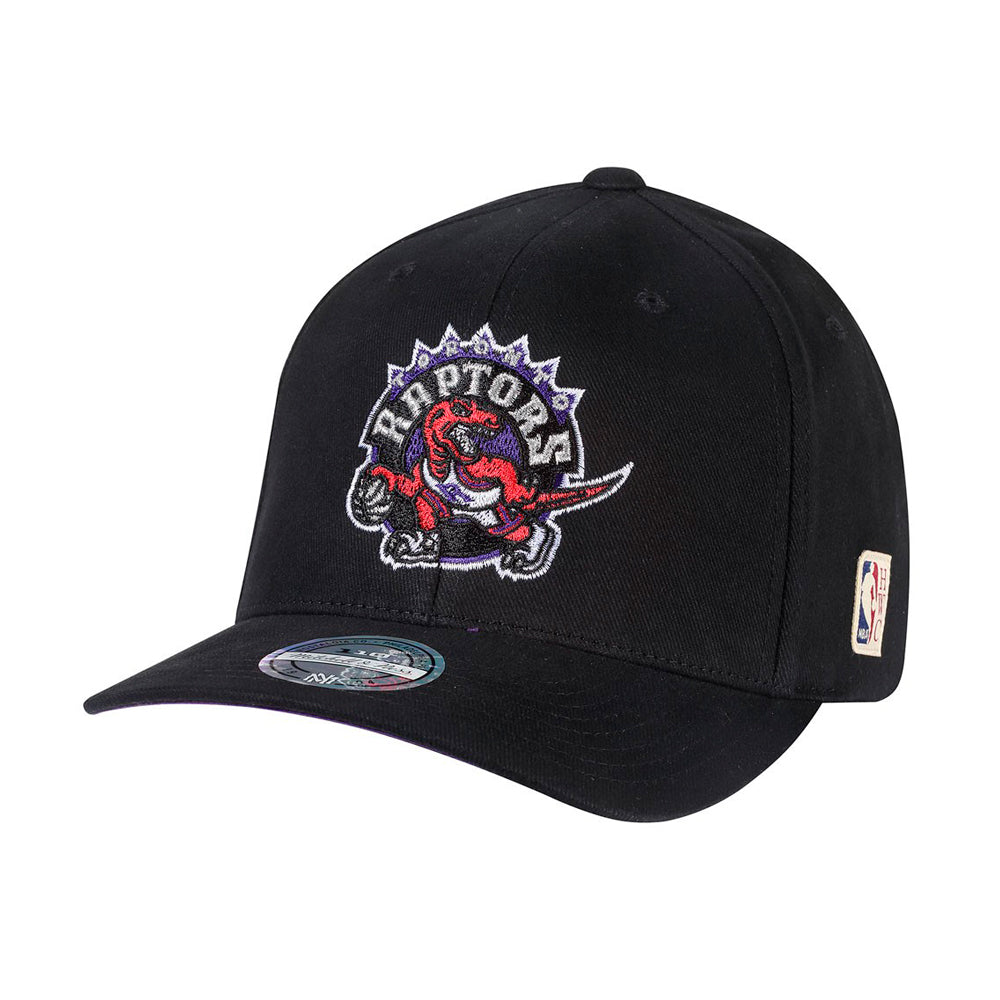 Mitchell & Ness Toronto Raptors Snapback 323 Black Debossed Sort Præget