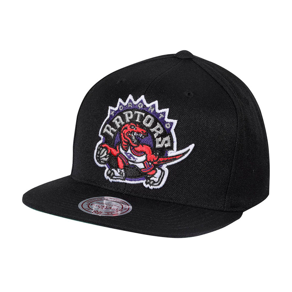 Mitchell & Ness NBA Toronto Raptors Snapback 405 Black Sort