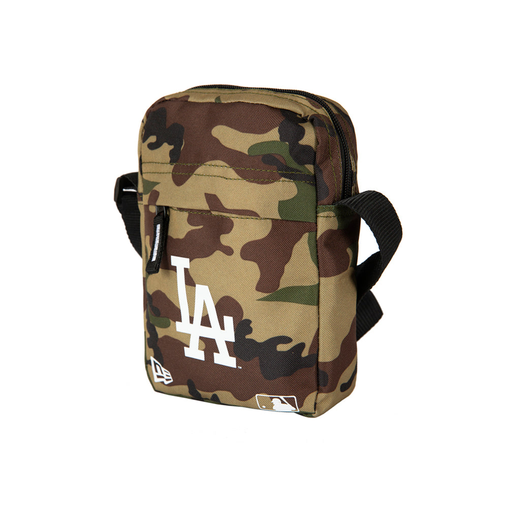 New Era LA Dodgers Side Bag Woodland Camo