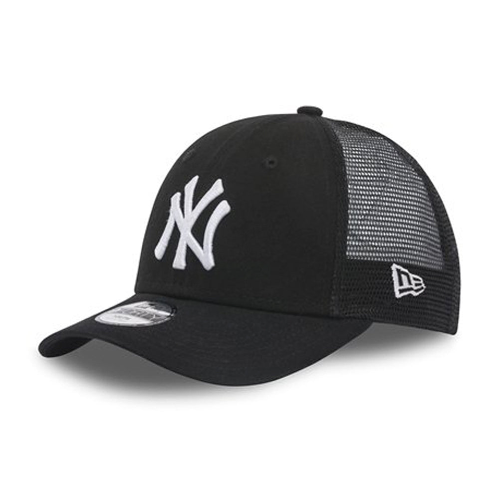 New Era Kids MLB 9Forty Mesh Trucker Snapback Black White Sort Hvid