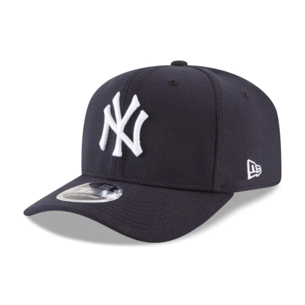New Era New York Yankees Stretch Snap 9Fifty Snapback  Navy White Blå
