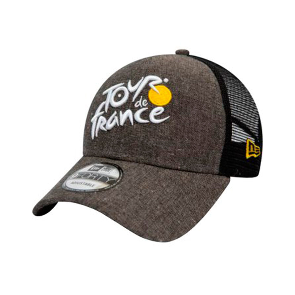 New Era Tour De France Chambray 9Forty Trucker Snapback Grey Chambray