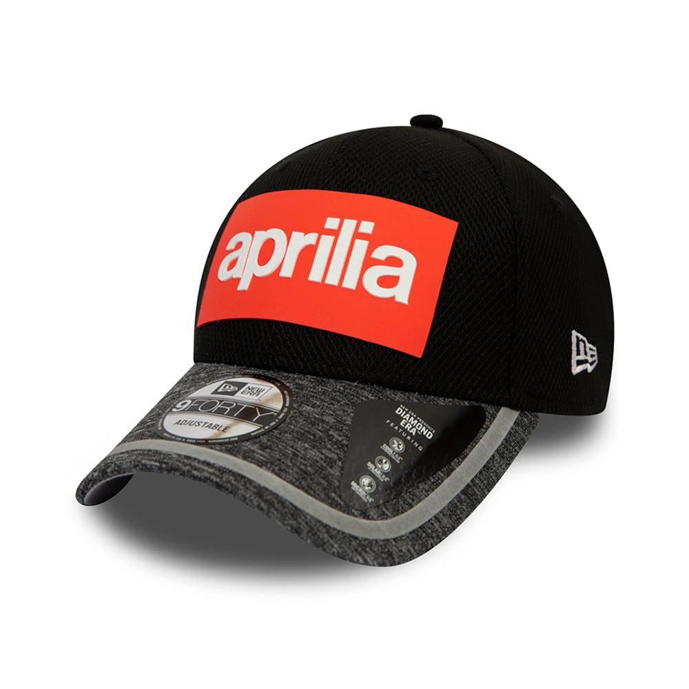 New Era Aprilia Diamond Era Reflect Visor 9Forty Adjustable Black Sort