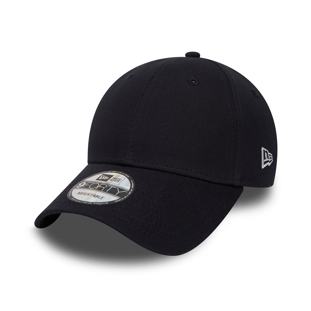 New Era Basic Cap 9Forty Adjustable Navy Blå