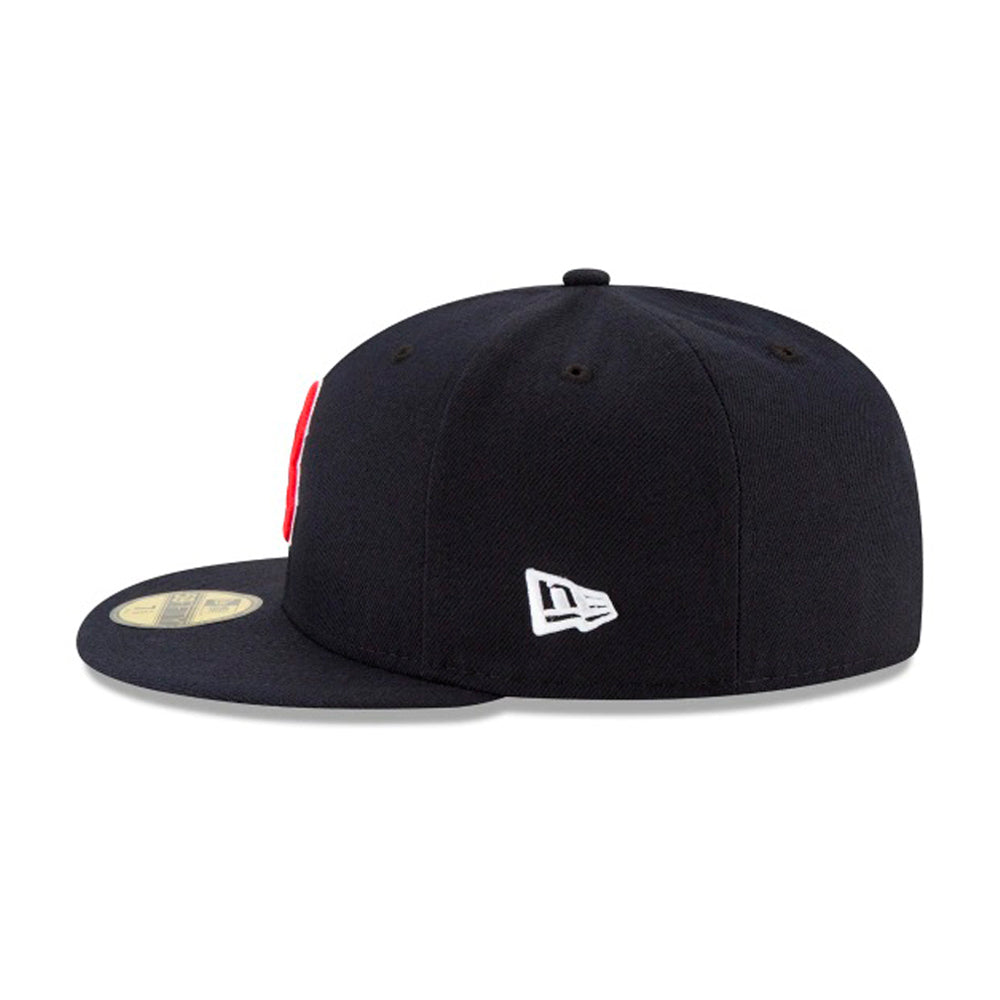 New Era MLB Boston Red Sox 59Fifty Authentic Fitted Navy Red Blå Rød