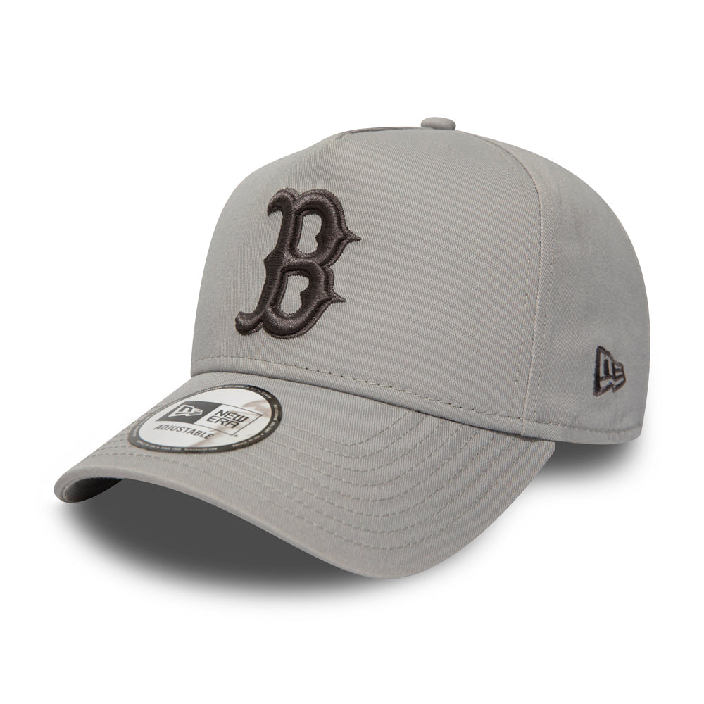 New Era Boston Red Sox Essential Aframe Snapback Grey Grå