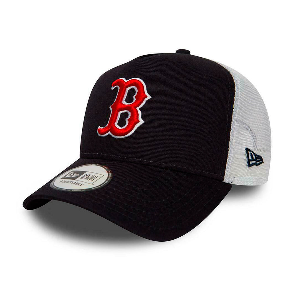 New Era Boston Red Sox Essential Trucker Snapback Navy White Blå Hvid