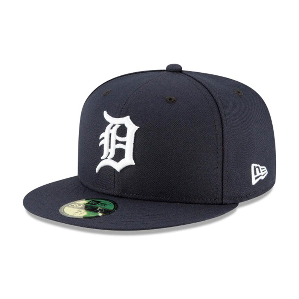 New Era MLB Detroit Tigers 59Fifty Authentic Fitted Navy White Blå Hvid