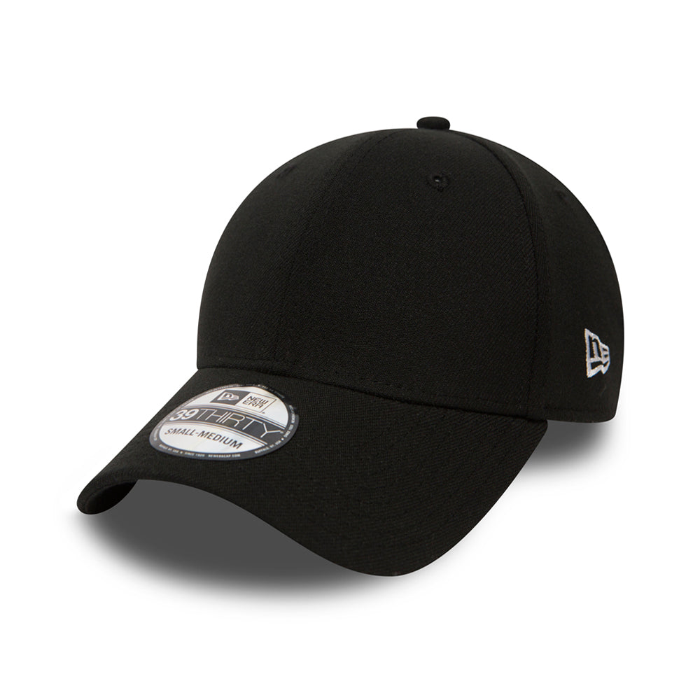 New Era Flag Basic Cap 39Thirty Flexfit Black Sort